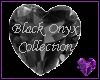 Black Gem Onyx Heart  7