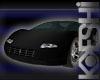 12 Pose Black Sports Car-Kokeshidoll