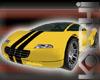 12Pose Yellow Sports Car-Kokeshidoll