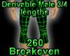 Derivable 3/4 Lengths *ST*