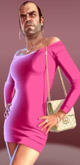 Trevor in Pink Dress Funny