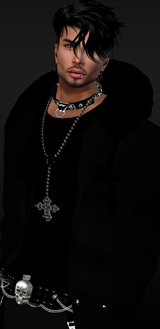 Male Avatar in Black