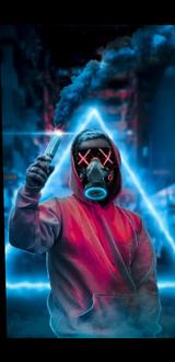 Purge Neon Full Background M 2 + Black Background