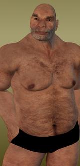 Wrestler Howard Ugly Guy Fighter